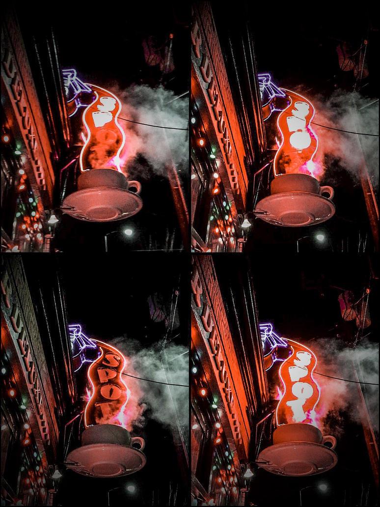 Coffee Shop, Seattle, WA 2016 by SalUTayMar