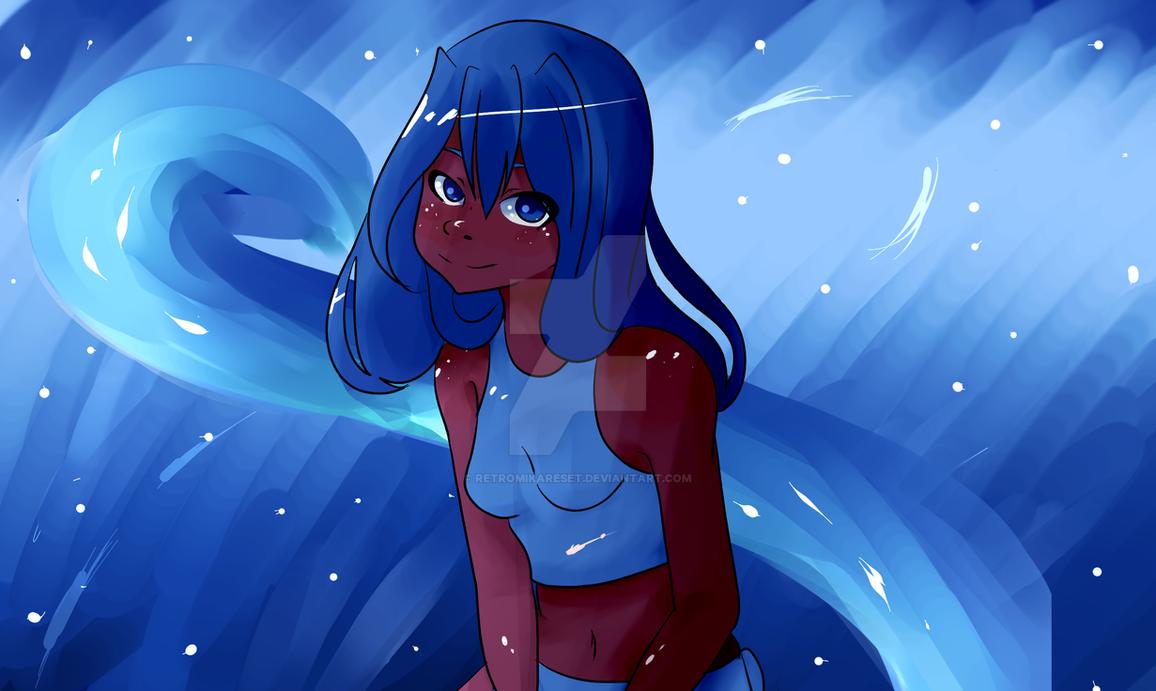 Aqua ( Colors of the Water ) by RetroMikaReset