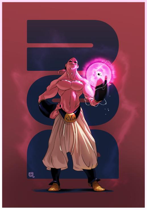 Boo dbz by bib0un on deviantart - Dragon ball z boubou ...
