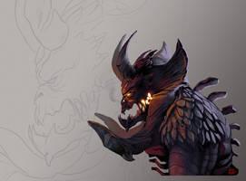 Demon color by bib0un