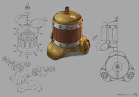 Machine steam by bib0un
