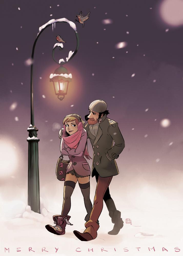 Merry Christmas by bib0un