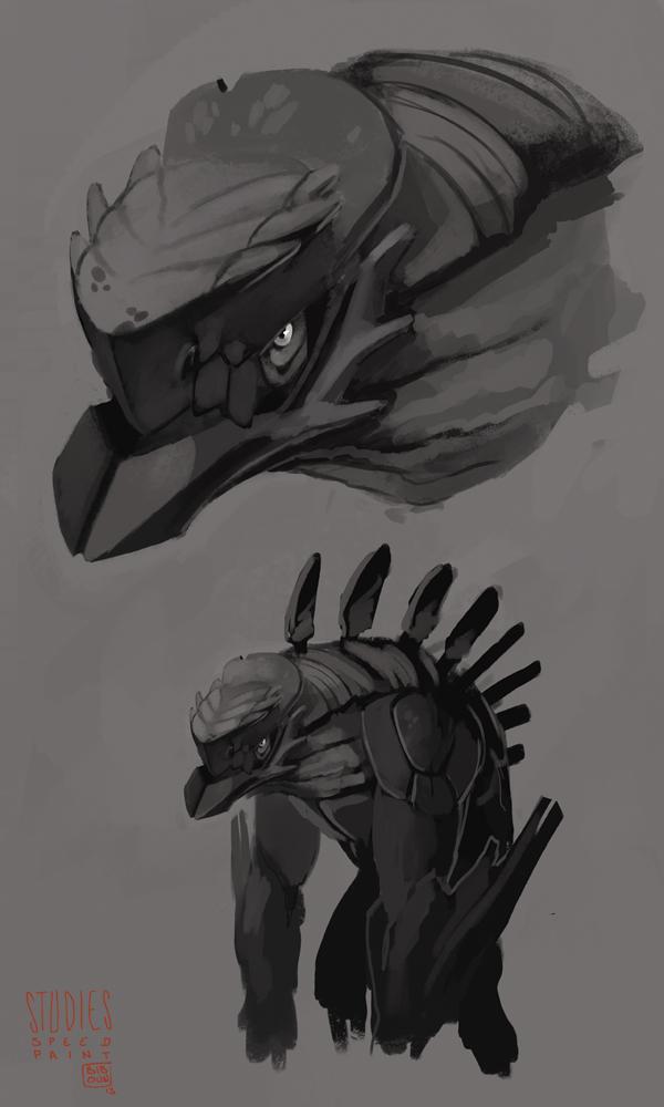 Speed creature by bib0un