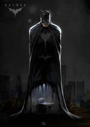 Batman by bib0un