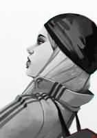 Street girl by bib0un