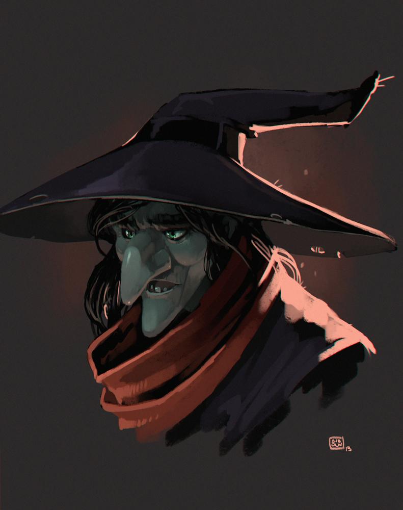Witch by bib0un