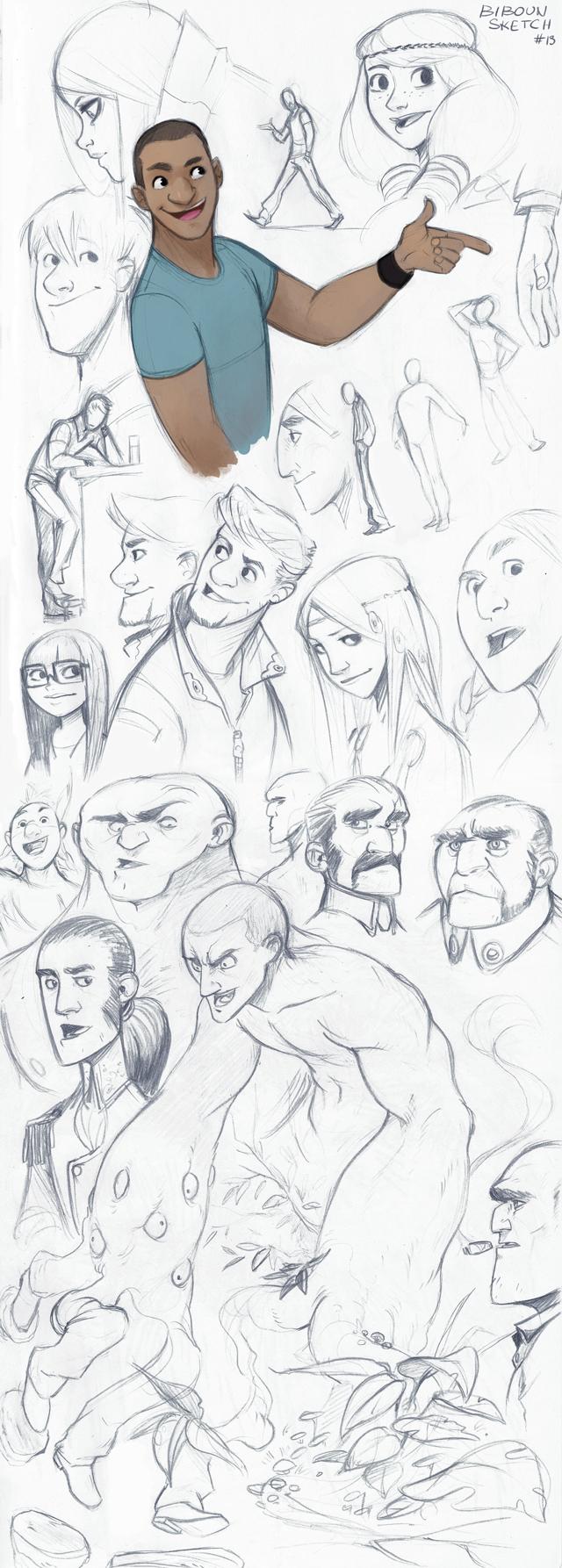 Sketch by bib0un