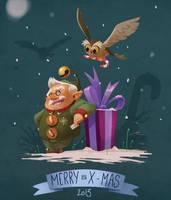 Merry X-mas by bib0un