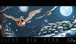 Happy New Year by bib0un