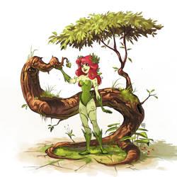 Poison Ivy by bib0un