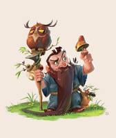 Druide by bib0un