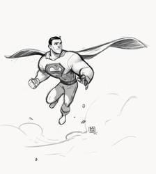 Superman by bib0un
