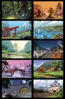Lands of Kenjin by bib0un