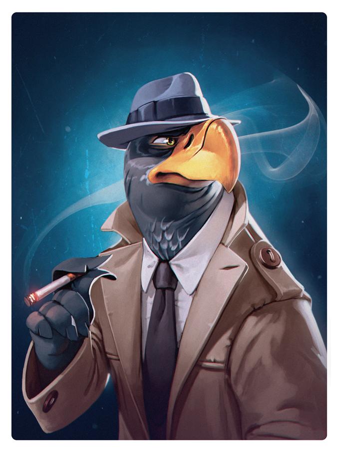 Agent by bib0un