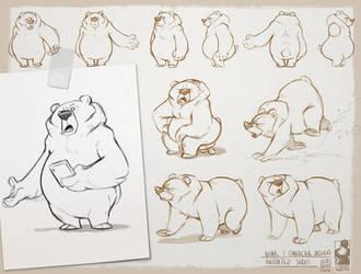 Grumpy bear Part2 by bib0un
