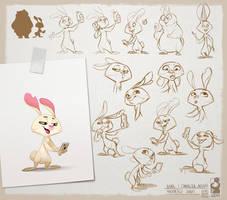 Grumpy Bear -rabbit- Part3