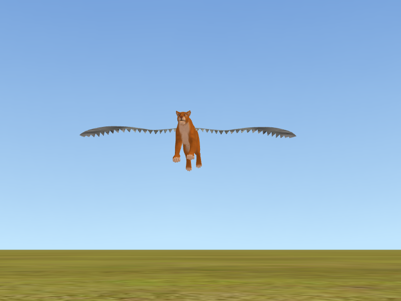 Feralheart wings - flying. by NightshadeTheLeopard