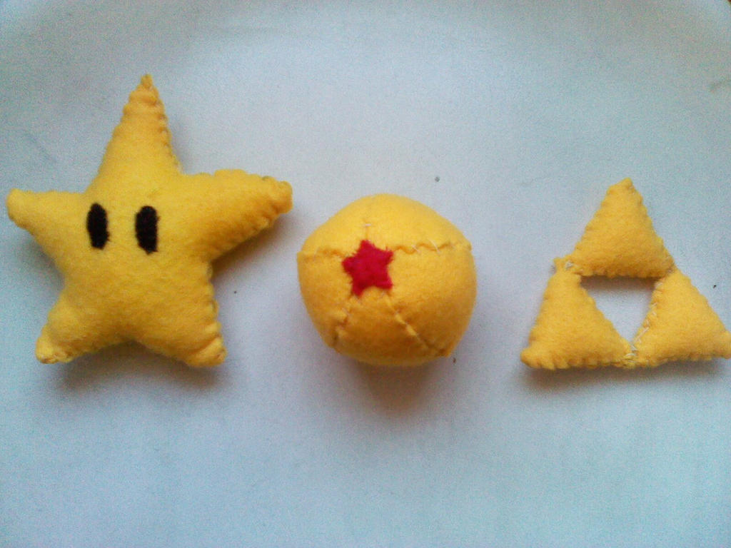 Invincible Star, Dragonball and the Triforce by mirageant ...