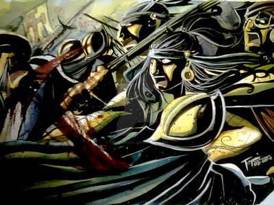 MAKTAN 1521: Flight Against Spain by tepaipascual