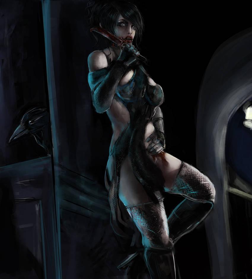 Viviel: Assassin by SynAethra