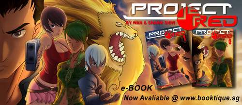 Project Red Comic eBook
