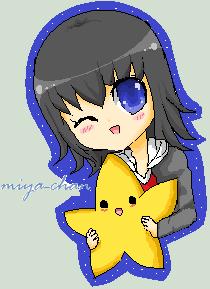 Miya-chan by snowsteel