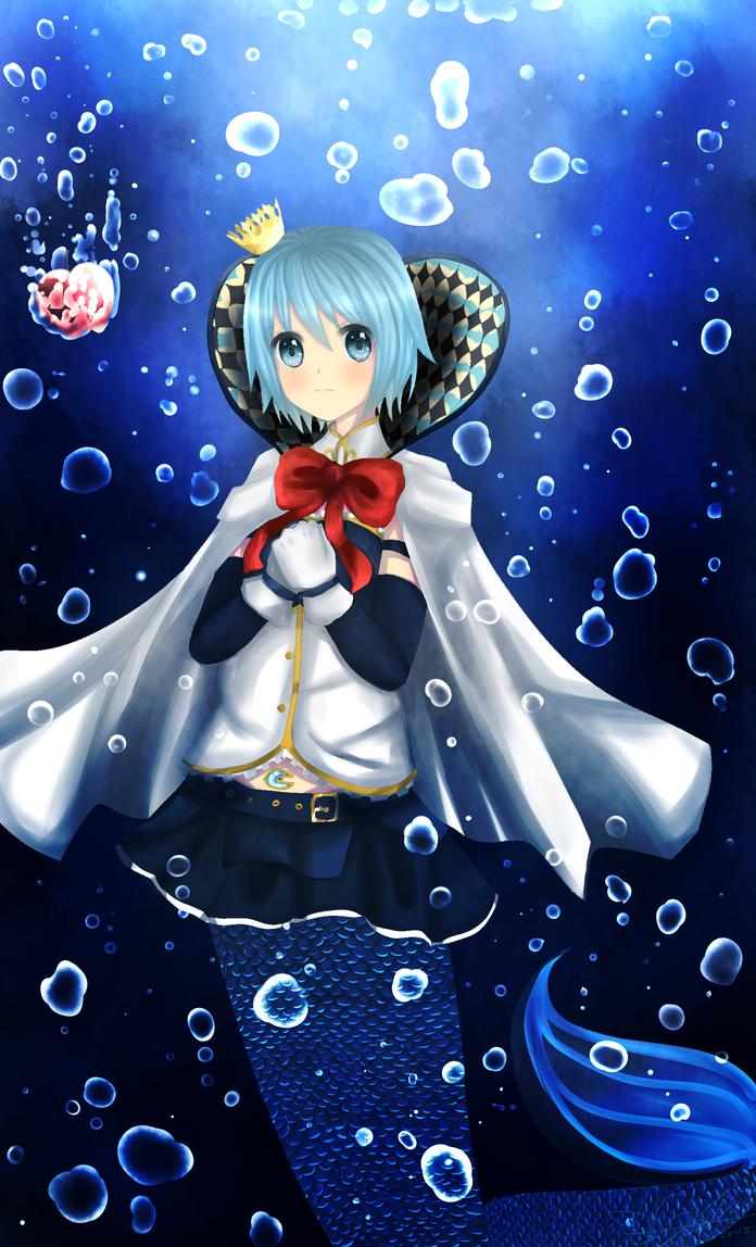 Sayaka Magica Madoka by snowsteel