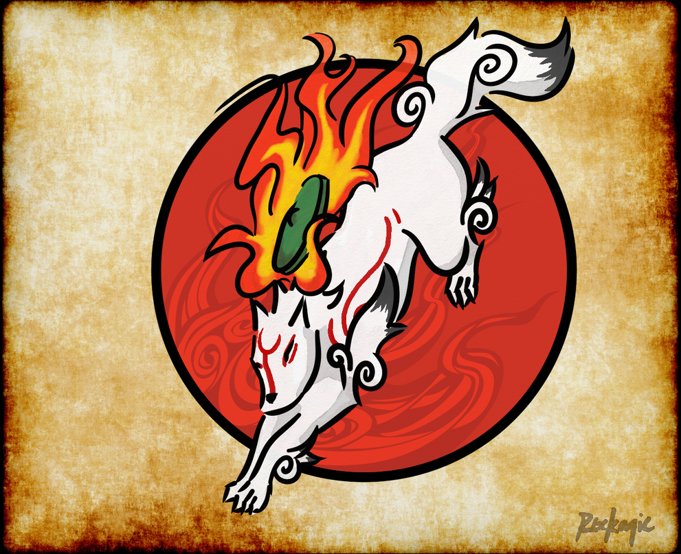 Okami by rockagie