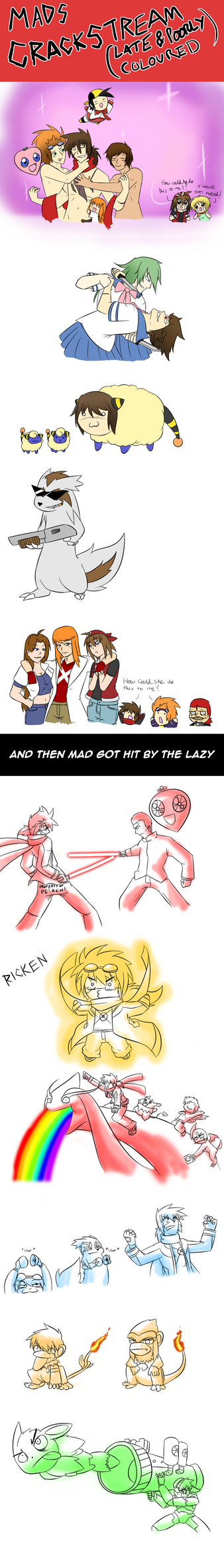 SUPER TERRIBLE AND LATE CRACKSTREAM! by Mad-Revolution