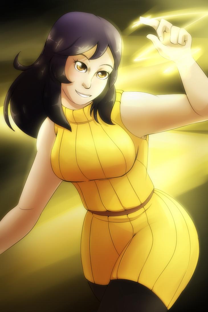 Claire - Pikachu Gijinka by Mad-Revolution