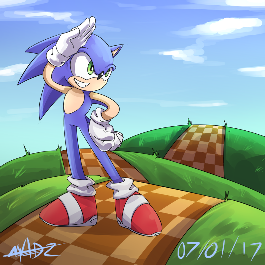 SONIC THE HEDGEHOG by Mad-Revolution