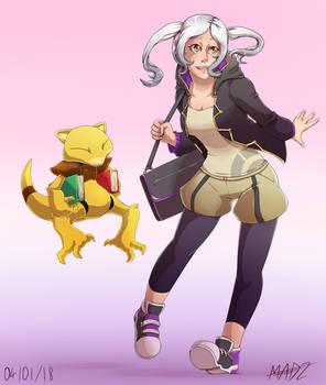 Fire Emblem Pokemon Trainer AU - F!Robin
