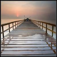 Morning at Fishing Pier by IgorLaptev