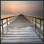 Morning at Fishing Pier