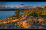 Evening At Moon River Bay
