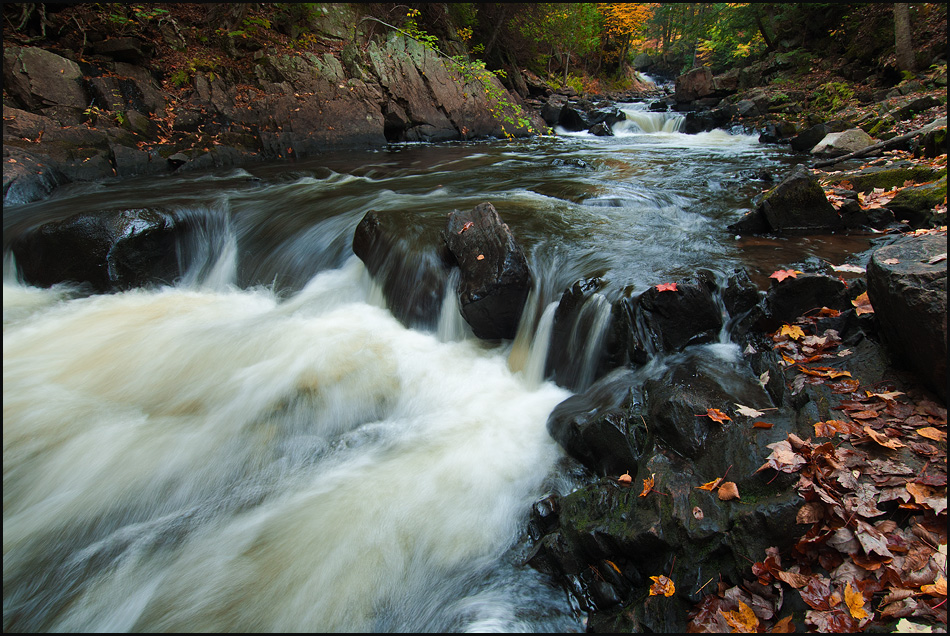 At The Fast Rapids of Fall by IgorLaptev
