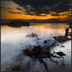 Morning at The Dead Sea by IgorLaptev