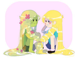 Plant life by Puppiii