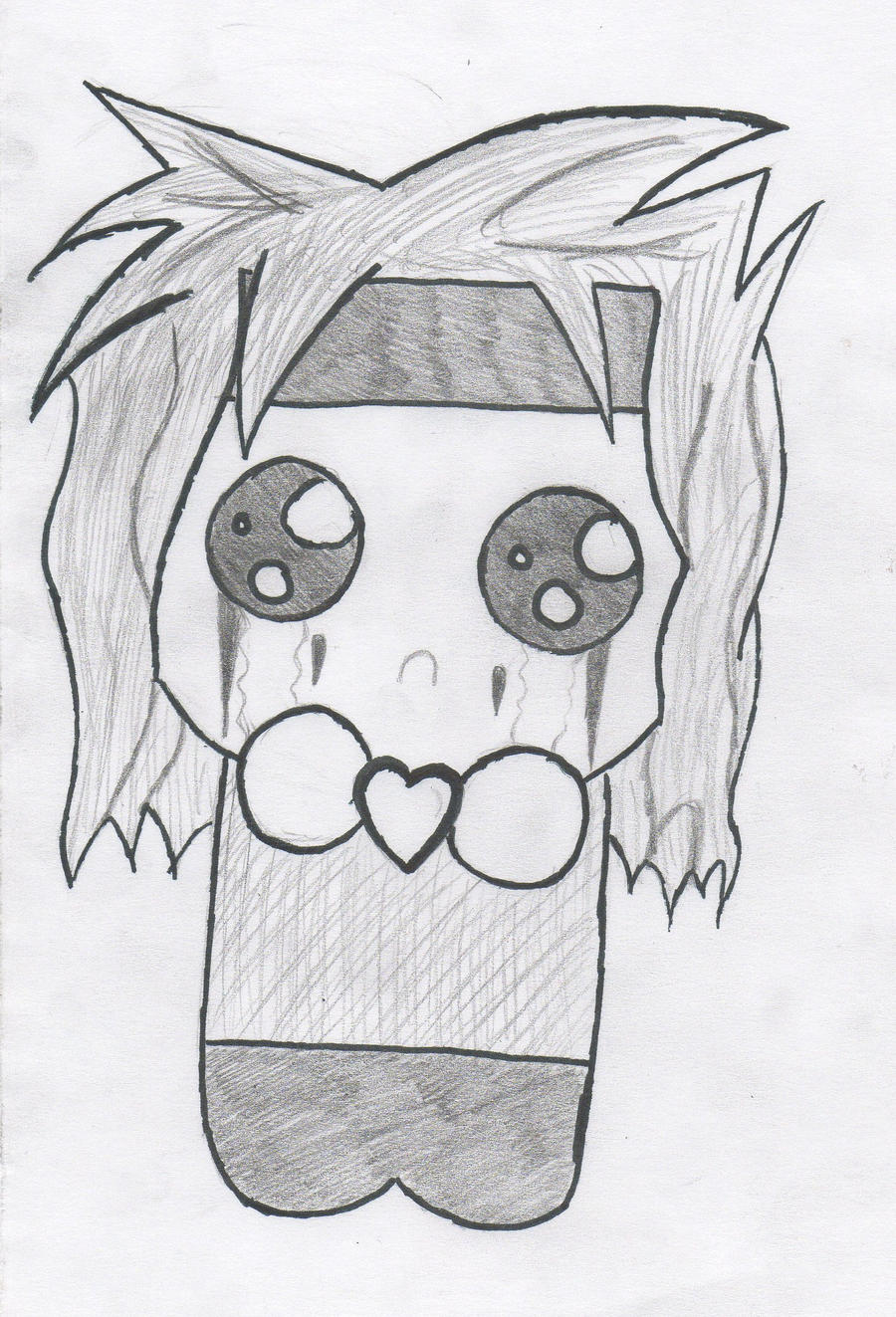 Black Veil Brides Drawings But, I love you...