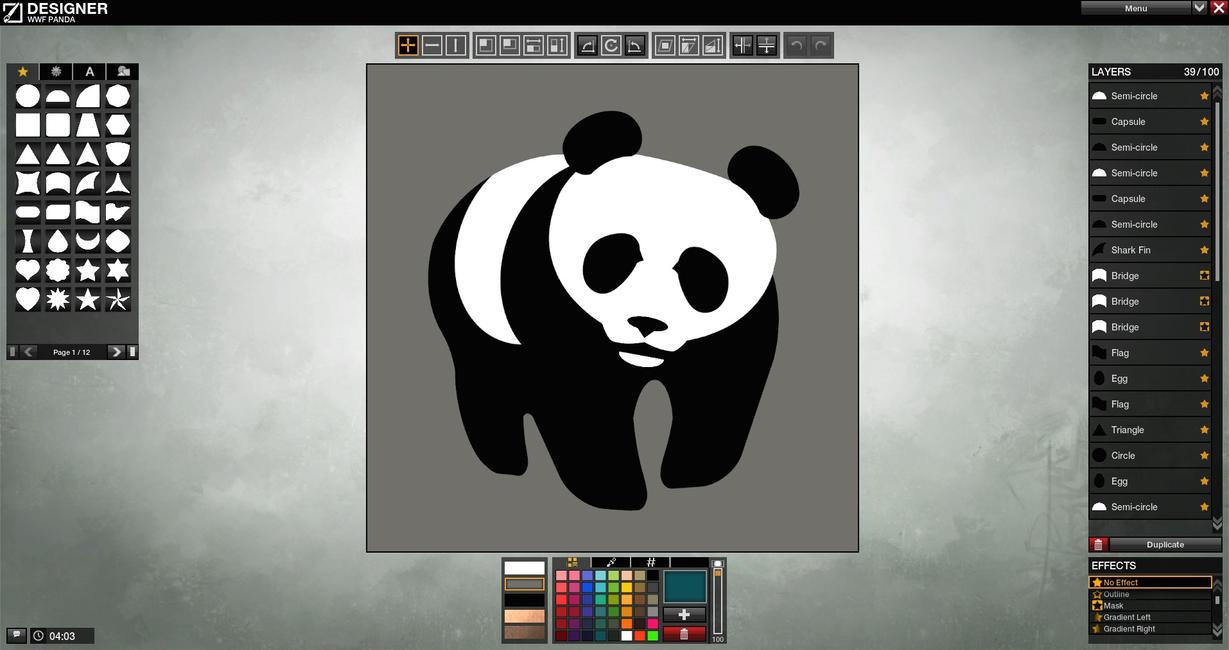 Graphic Designer  WWF