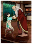 Grandpa Iroh and his Little Princess
