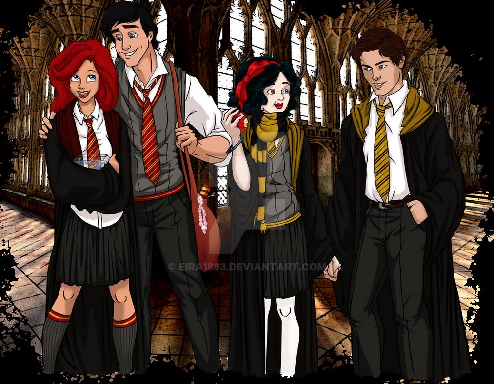 Disney at Hogwarts: 1/8 by Eira1893