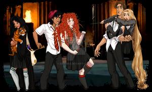 Disney at Hogwarts: 3/8