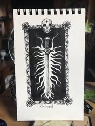 Inktober 6 by minamsfallenangel