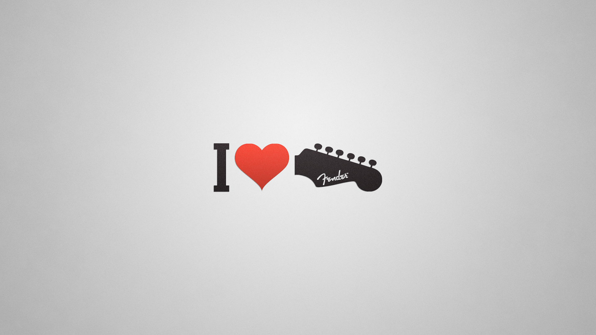 I Love Fender by 8168055
