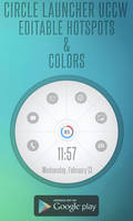 Circle Launcher Android UCCW SKIN