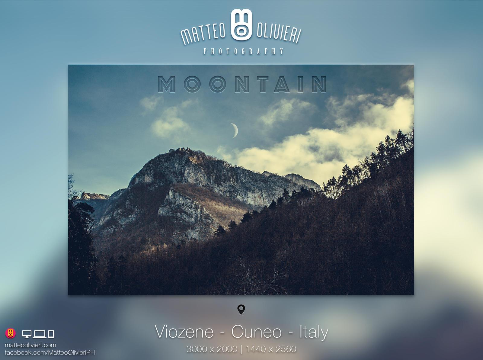 Moontain - 4K Wallpaper - Landscape by 8168055