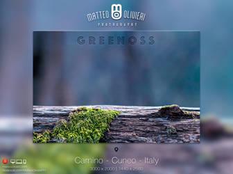 Greenoss - 4k Wallpaper by 8168055