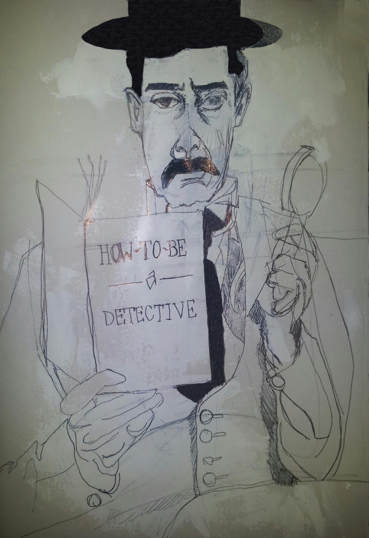 How to be a detective (computer altered) by hermitsrme