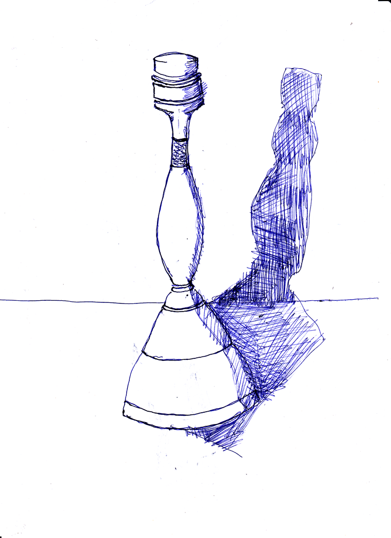 still life practice for PoisonedSeaSerpent by hermitsrme